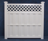 Shadow Box Privacy Fencing