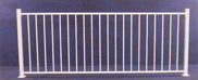 Plain Iron Panel Fence